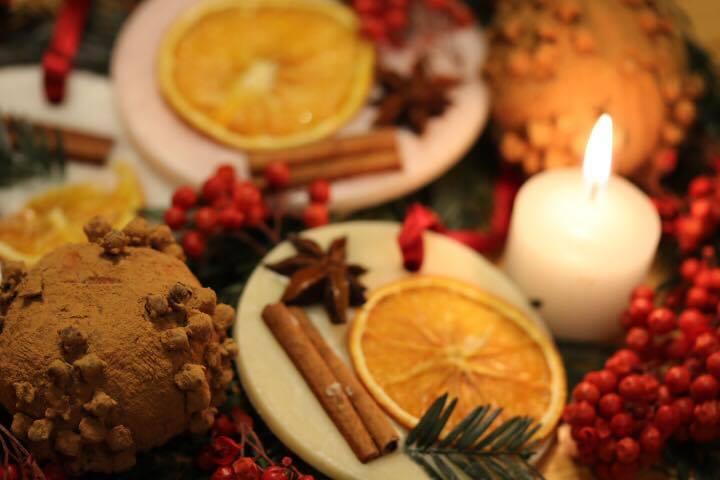 クリスマス香り演出